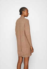 ONLY - ONLPRIME DRESS - Jumper dress - brownie melange - 2