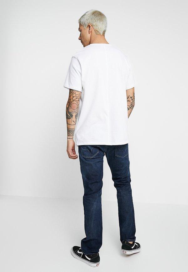 Pepe Jeans CASH - Jeansy Straight Leg - blanco/ciemnoniebieski Odzież Męska LDVX