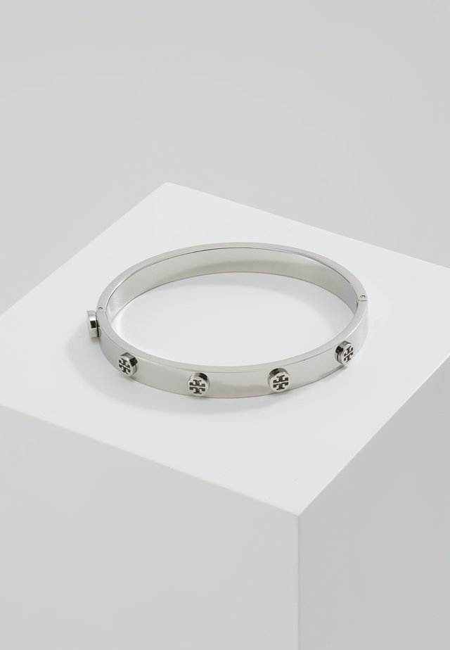 LOGO STUD HINGE BRACELET - Bracciale - silver