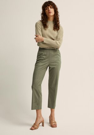 FRANCIS  - Trousers - dusty olive