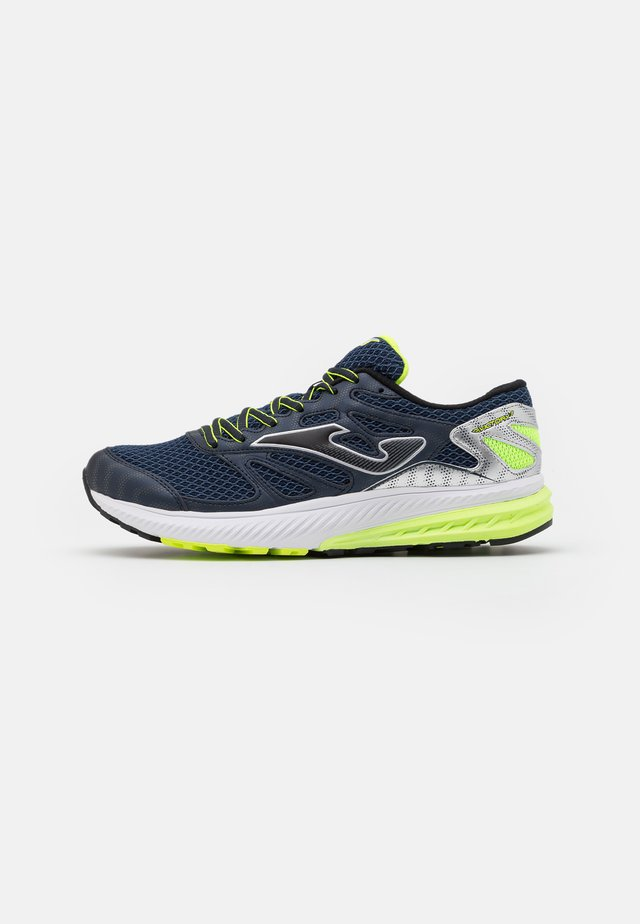 VICTORY - Chaussures de running neutres - navy/lemon