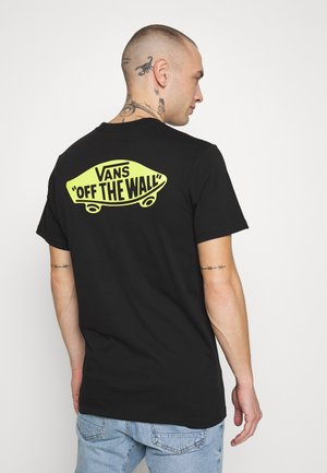CLASSIC - Print T-shirt - black/sulphur spring