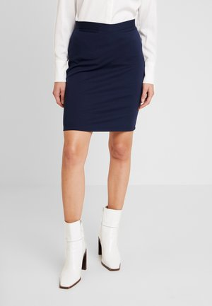 CAMILLE - Pencil skirt - navy