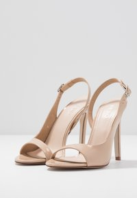 BEBO - BRISA - High heeled sandals - nude - 4