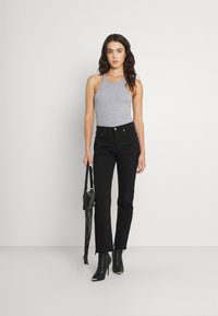 Levi's® - 501 CROP - Jeans Tapered Fit - pitch dark - 1