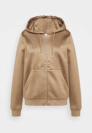 FELPA - Zip-up sweatshirt - beige