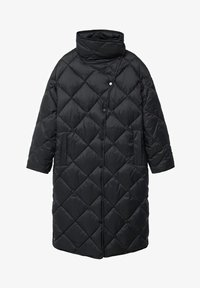 Mango - CROCO - Winter coat - schwarz - 5