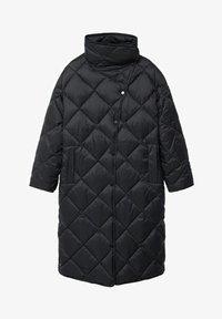 CROCO - Winter coat - schwarz