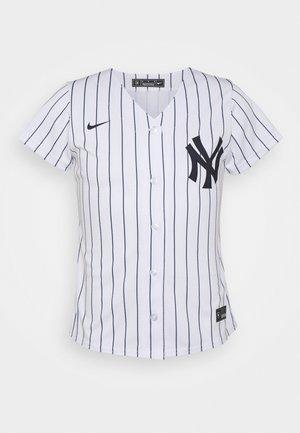 MLB NEW YORK YANKEES OFFICIAL REPLICA HOME - Klubové oblečení - white/navy