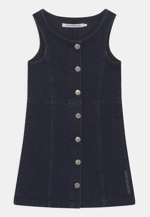 Denim dress - blue black