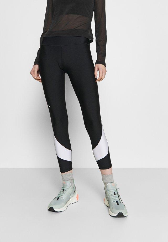 TAPED ANKLE LEG - Collant - black