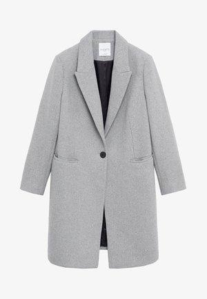 BASIC7 - Classic coat - grau