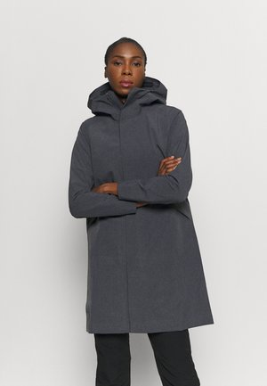 SANDRA COAT WOMEN'S - Waterproof jacket - black heather