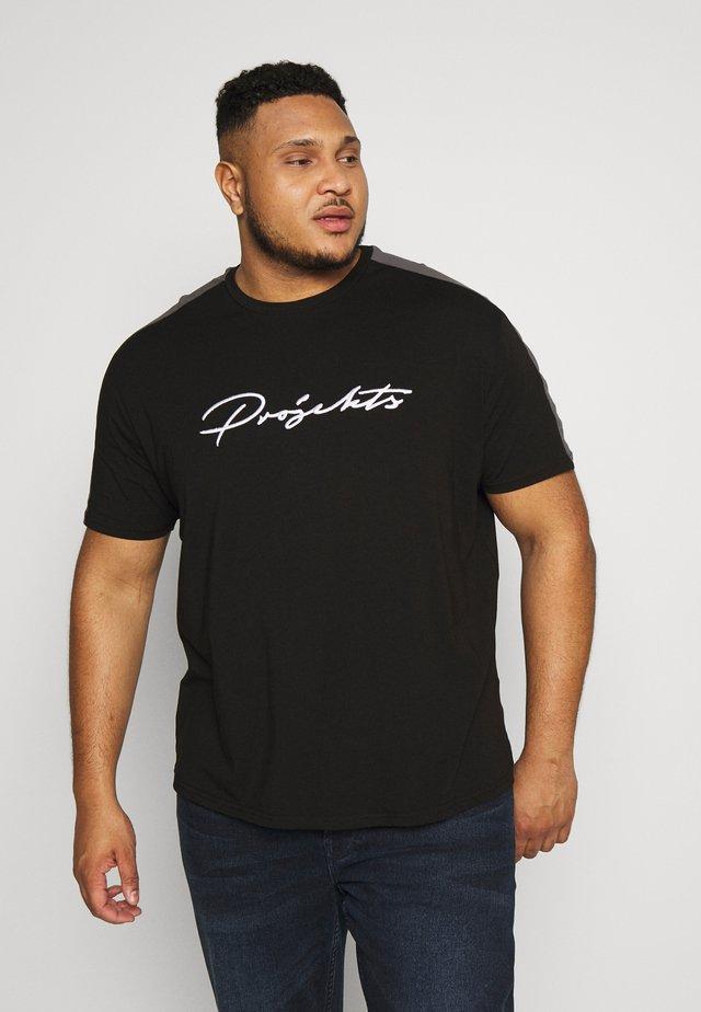 GATLIN SIGNATURE - T-shirt imprimé - black