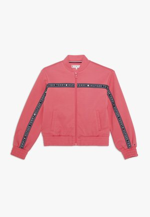 TOMMY TAPE TRACK - Training jacket - pink