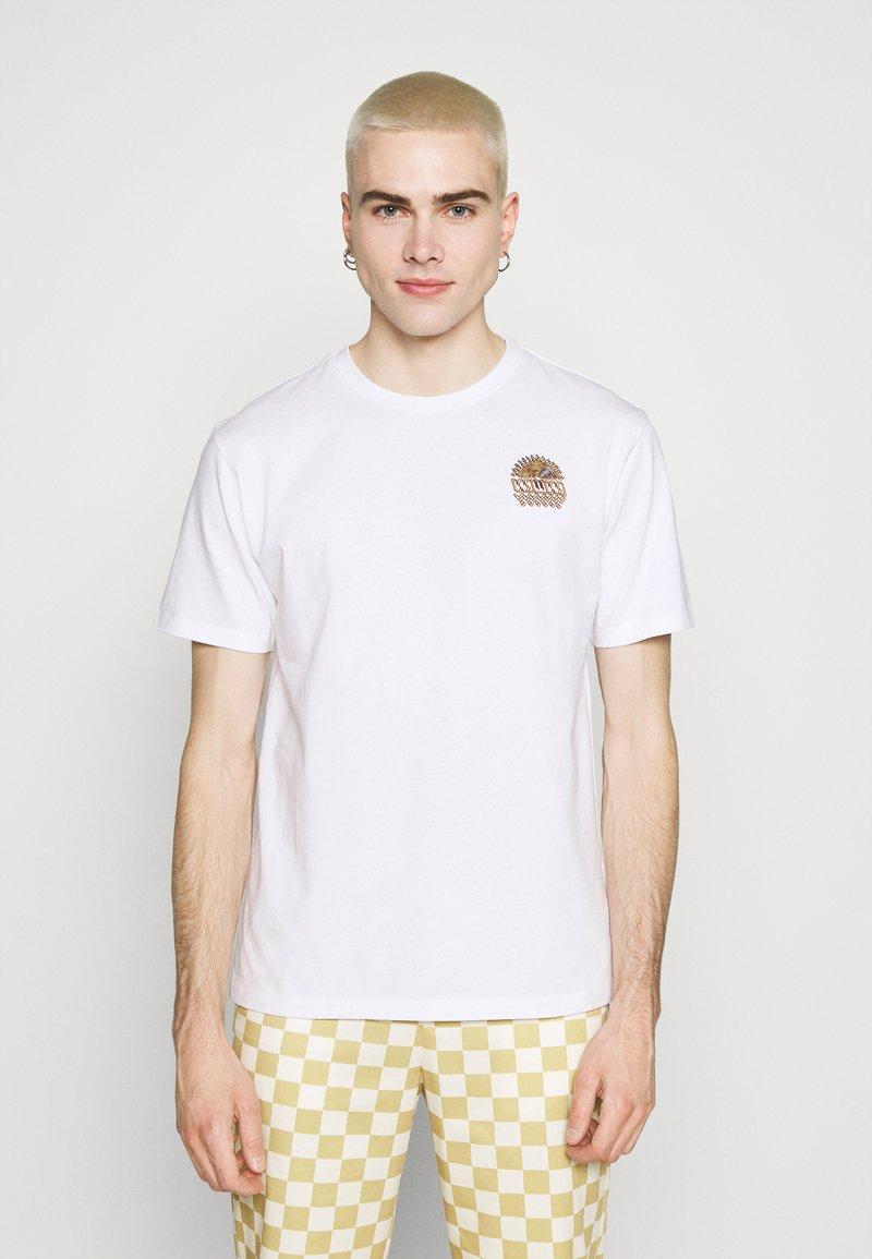 WAWWA - UNISEX SUNSPOTS - Print T-shirt - white