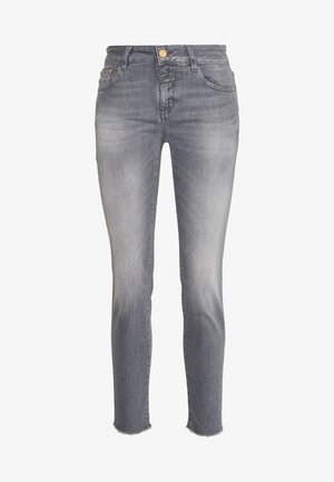 BAKER - SLIM FIT MID WAIST CROPPED LENGTH - Slim fit jeans - mid grey