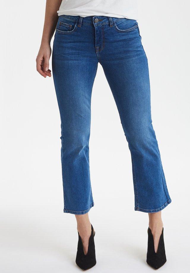 FRHODEMI - Jeans bootcut - clear blue denim