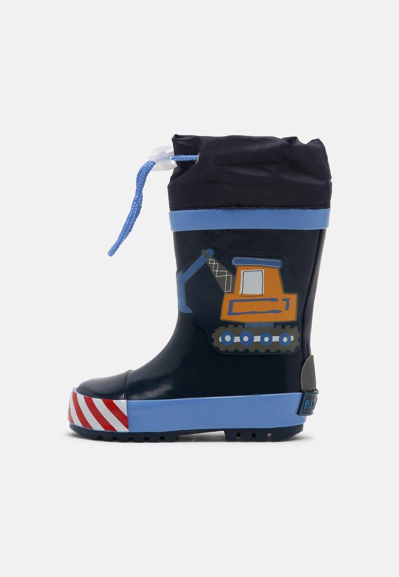 Playshoes - BAUSTELLE - Wellies - bleu