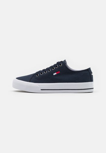 LONG LACE UP  - Trainers - twilight navy