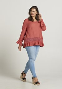 Zizzi - Blouse - red - 1
