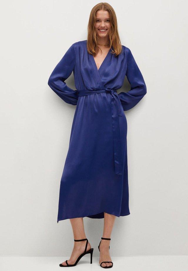 Długa sukienka - dunkles marineblau