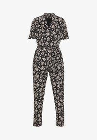 Wallis - TIE NECK - Jumpsuit - black - 4