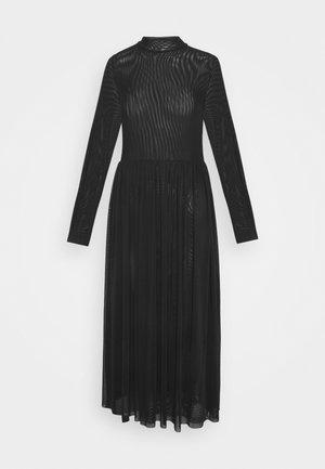 MIDI DRESS - Robe d'été - black