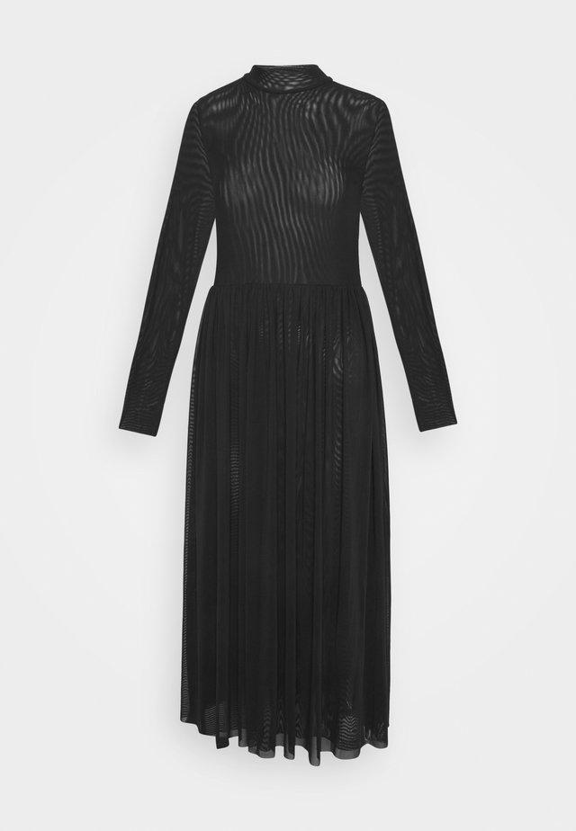 MIDI DRESS - Day dress - black