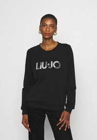 Liu Jo Jeans - FELPA CHIUSA - Sweatshirt - nero - 0