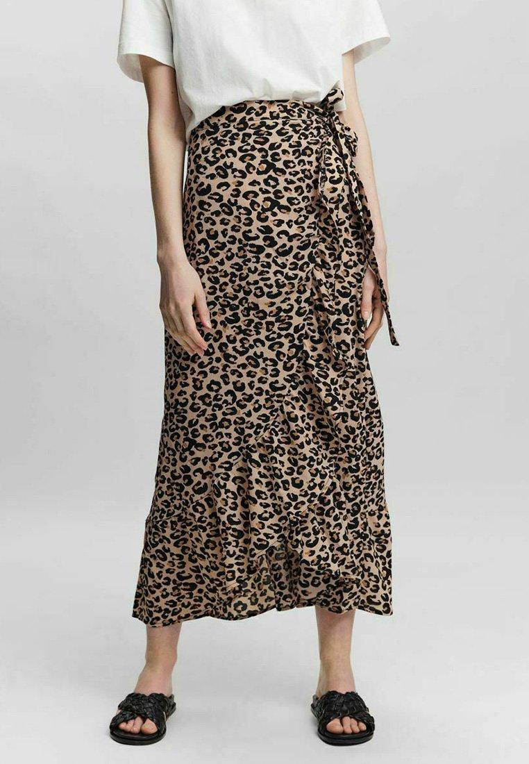 Vero Moda - A-line skirt - toasted almond