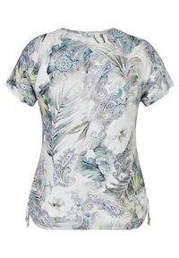 LeComte - Print T-shirt - hellgrun - 1