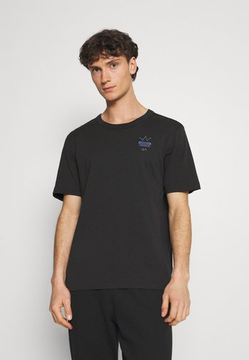ABSTRACT TEE UNISEX - T-shirt z nadrukiem - black