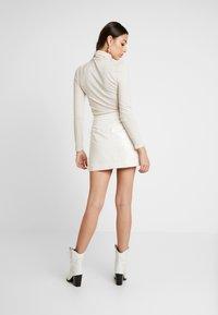 Bec & Bridge - WAX MINI SKIRT - A-line skirt - ivory - 2