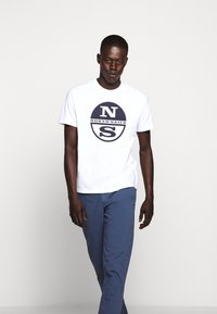 North Sails - LONG TROUSERS - Chino kalhoty - vintage indigo - 4