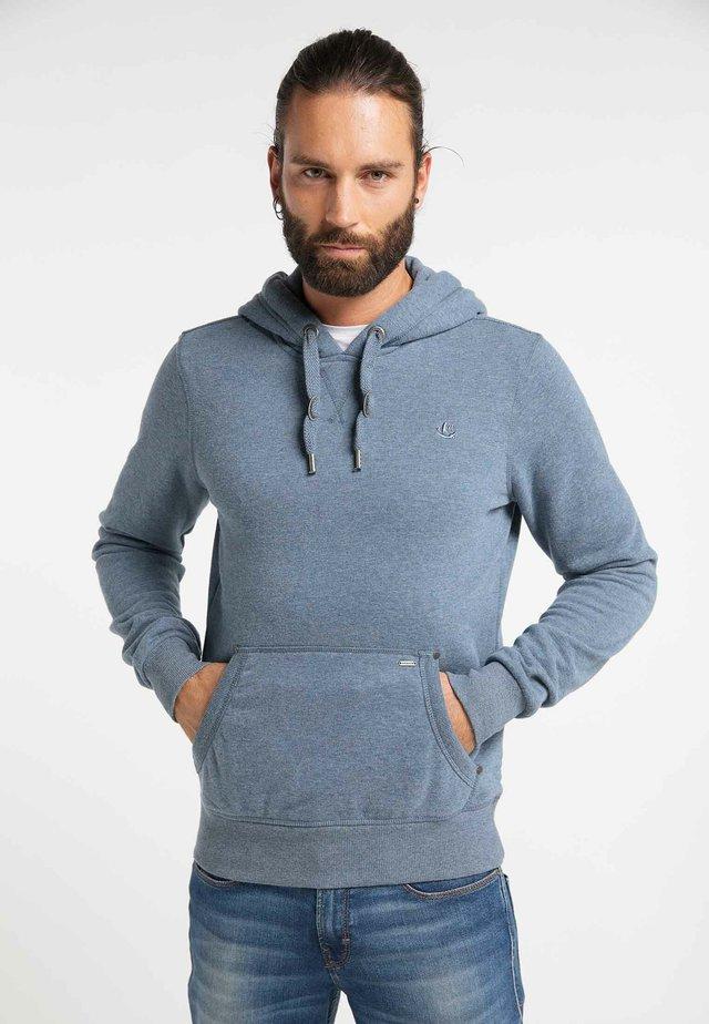 Bluza z kapturem - marine melange