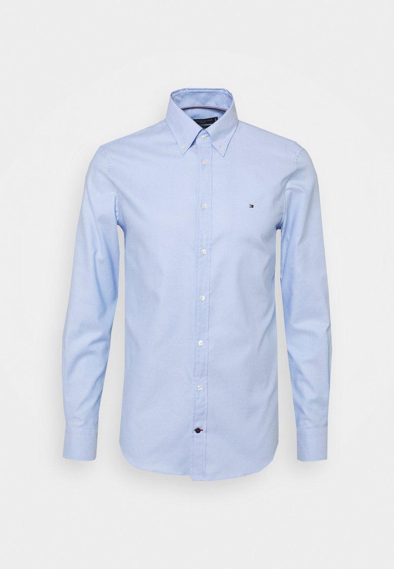 Tommy Hilfiger Tailored - DOBBY SLIM - Formal shirt - light blue/white
