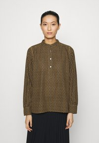 ARKET - BLOUSE - Blouse - brown medium dusty - 0