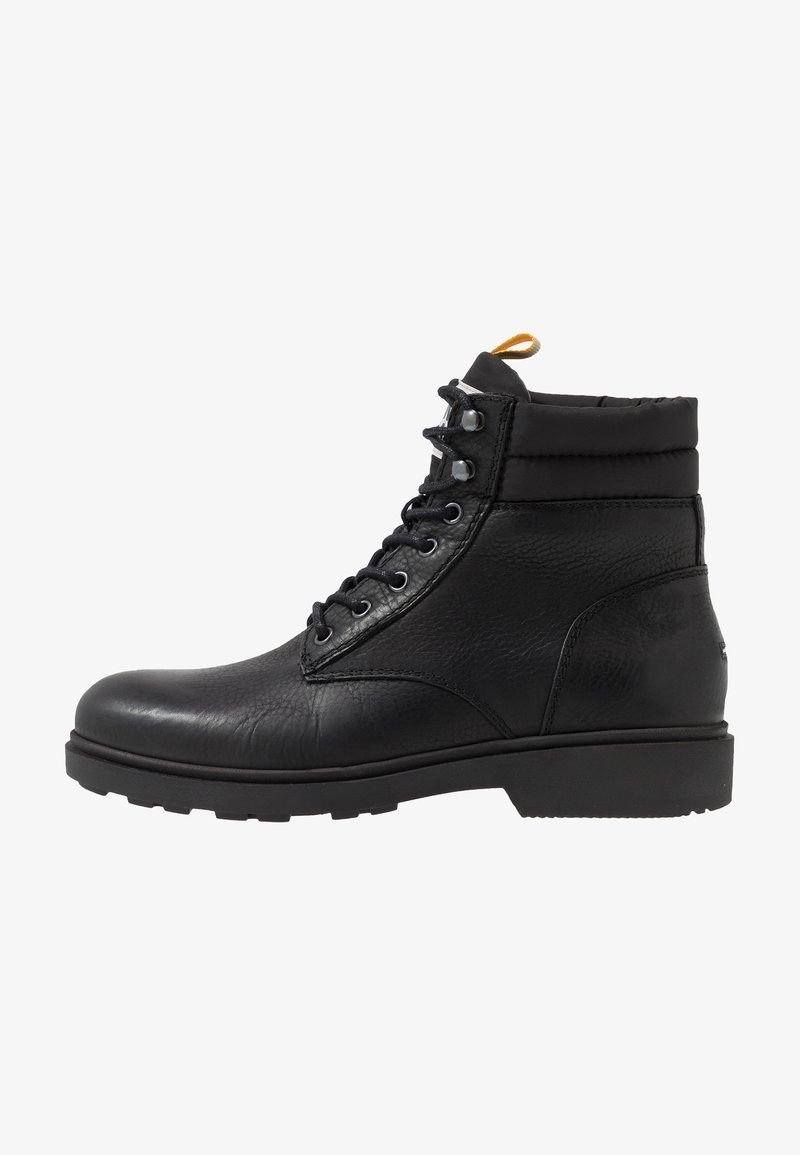 Tommy Jeans - CASUAL BOOT - Lace-up ankle boots - black