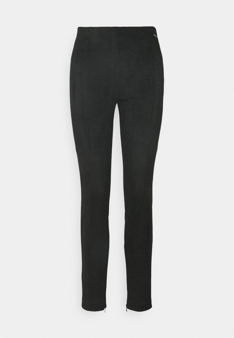 comma casual identity - Leggings - Trousers - black
