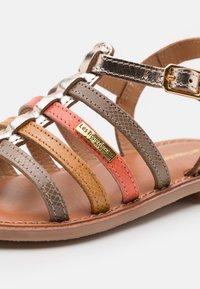 Les Tropéziennes par M Belarbi - HIRSON - T-bar sandals - taupe/multicolor - 5