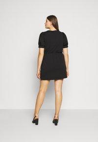 Pieces Curve - PCMERVE DRESS - Day dress - black - 2