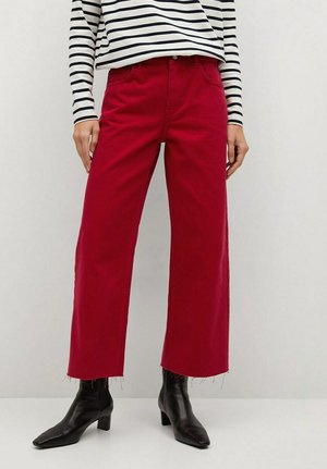 BERRY-H - Straight leg jeans - rood