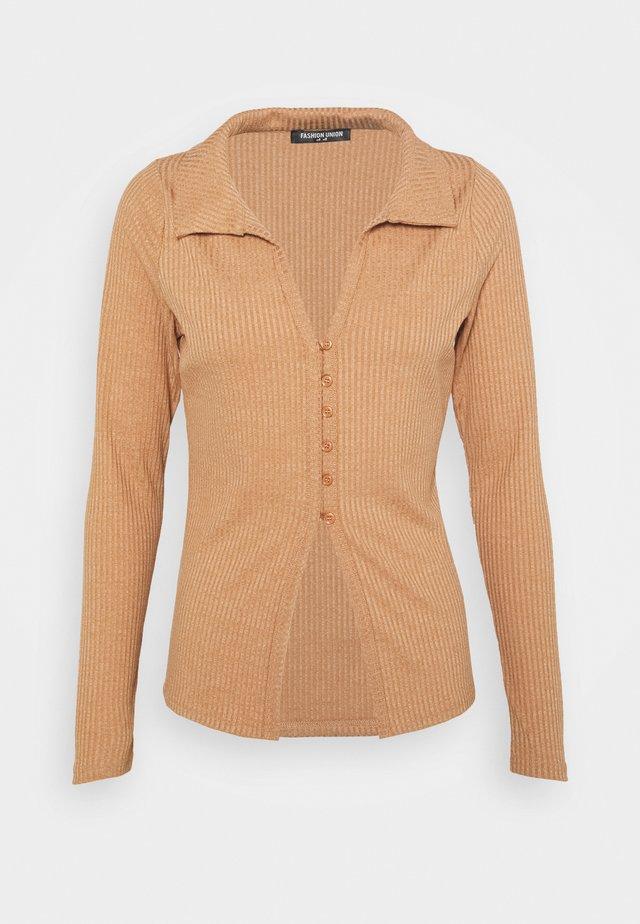 FENNEL - Cardigan - beige