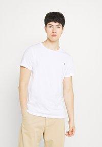 Replay - CREW TEE 3 PACK - Basic T-shirt - black/ white/hazelnut - 1