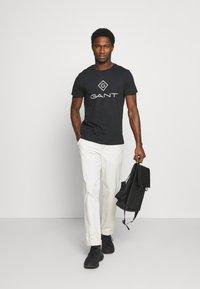 GANT - LOCK UP  - Print T-shirt - black - 1