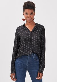 BONOBO Jeans - UMWELTFREUNDLICHE - Camicetta - noir - 3