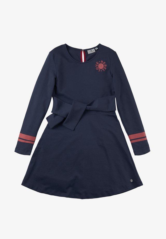Jersey dress - peacoat|blue