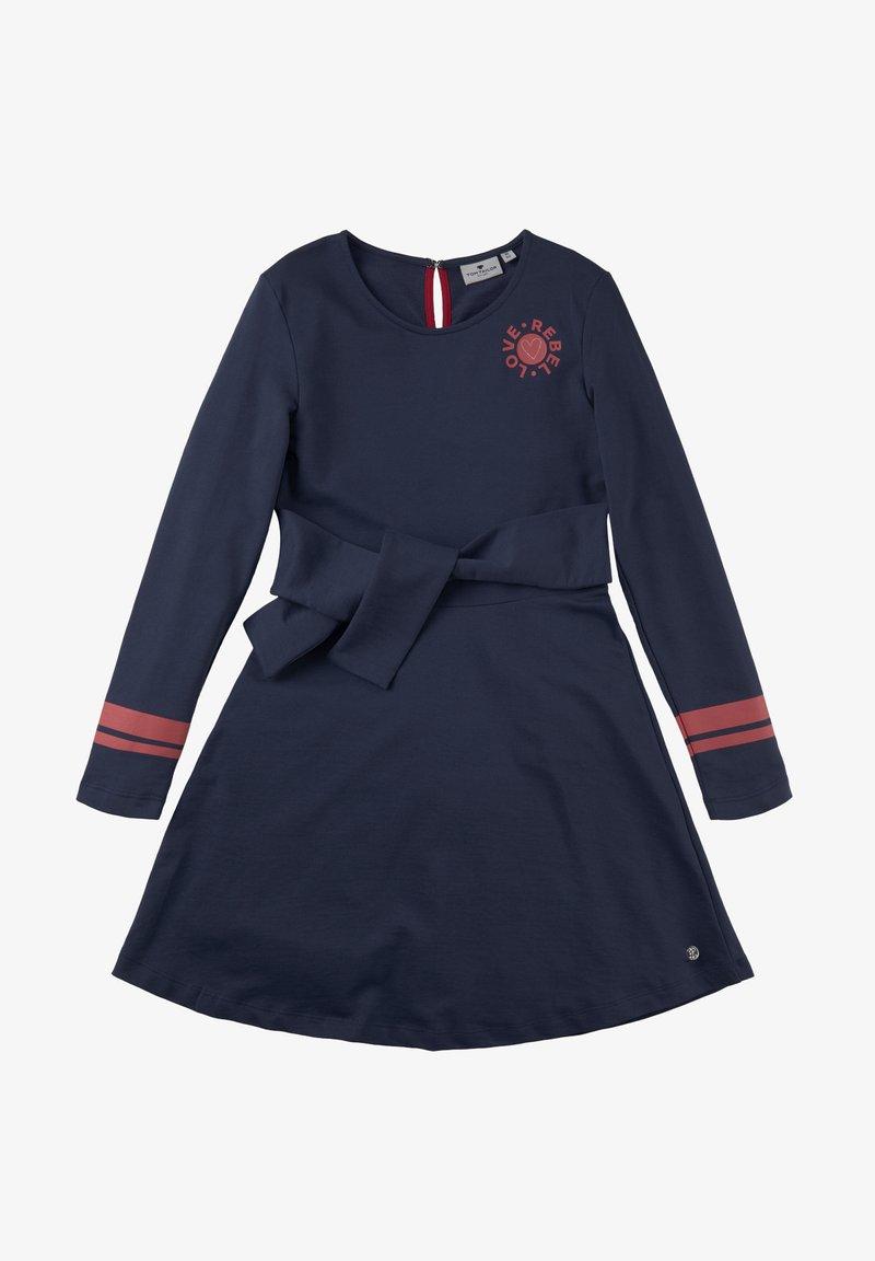 TOM TAILOR - Jersey dress - peacoat|blue