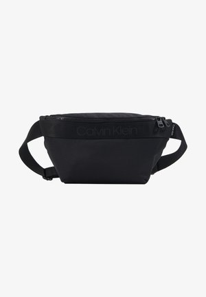 NASTRO LOGO WAISTBAG - Bum bag - black
